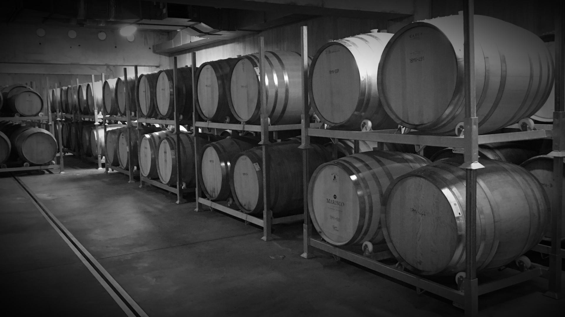 Wine Barrel Racking NZ